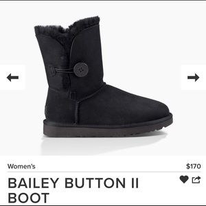 Ugh Boots Bailey Button